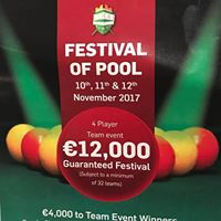 Kerry Festival Of Pool