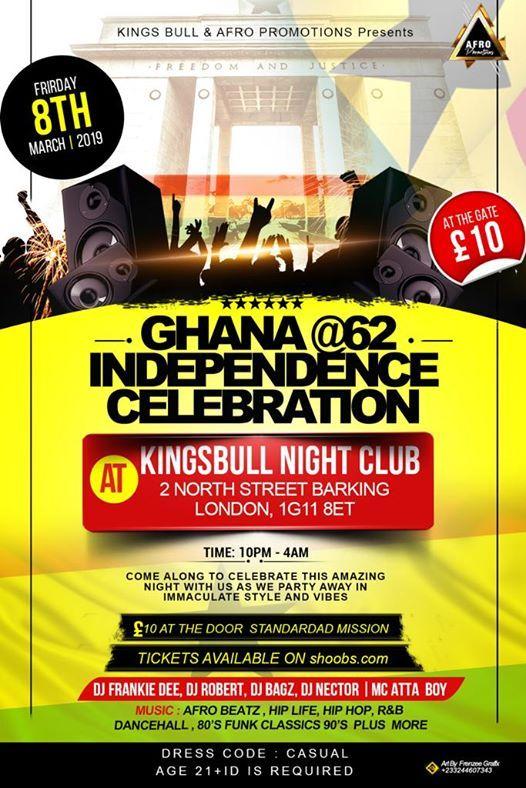 Ghana at 62 independence Celebration