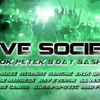 RAVE Society - Rok Petek BDay Bash