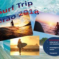 Surf Trip - Aulas de Surf  Hospedagem e Transporte - 1 AULA