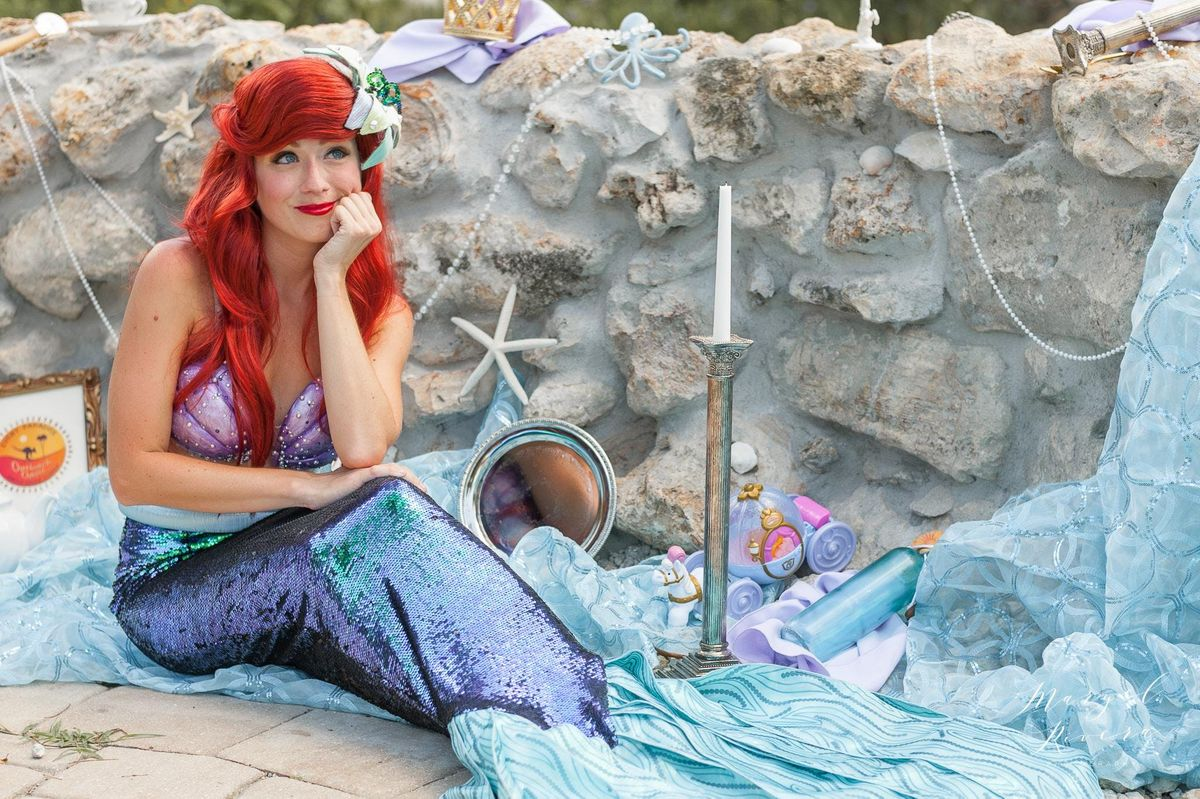 Royal Tea with The Little Mermaid