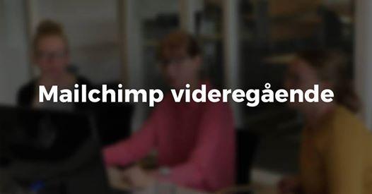 Mailchimp videregende kursus i Aarhus