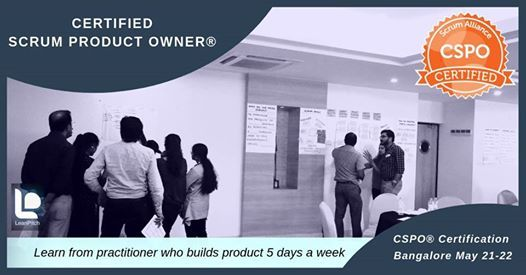 Certified Scrum Product Owner (CSPO) Workshop - Bangalore