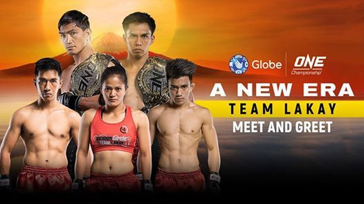 ONE Championship Team Lakay Meet and Greet