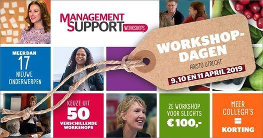 Management Support Workshopdagen 2019