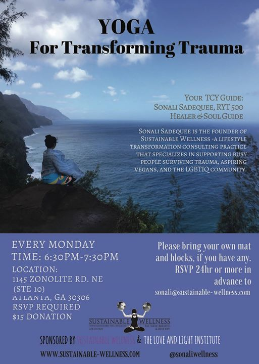 Yoga for Transforming Trauma