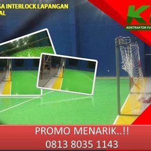 Jual Interlock Futsal Kepulauan Seribu Call  0813 8035 1143