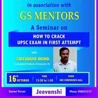 Seminar on Cracking UPSC Exam