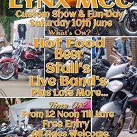 Lynxx MCC bike show and Live Music