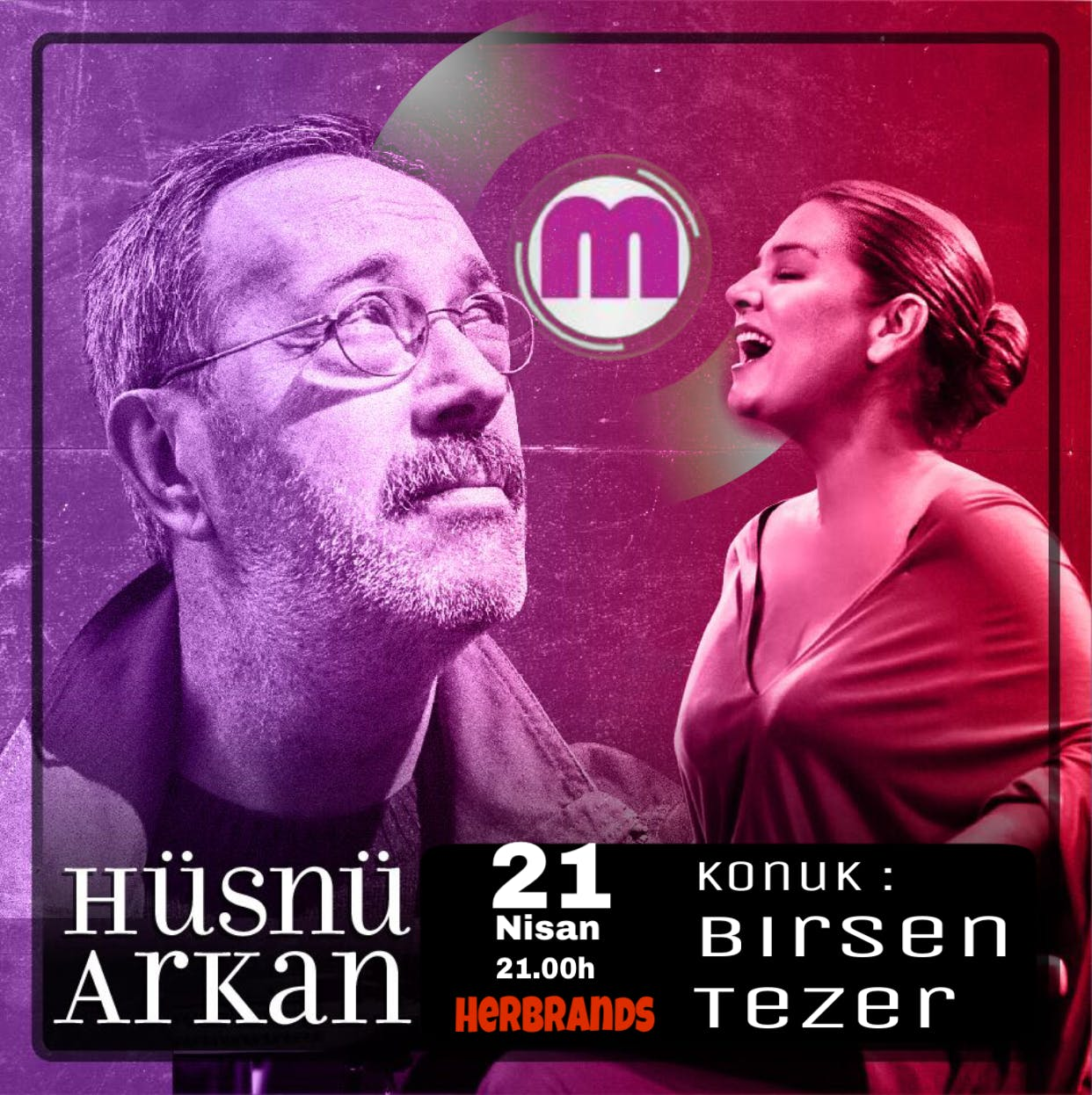 Hsn Arkan und Birsen Tezer Live in KLN