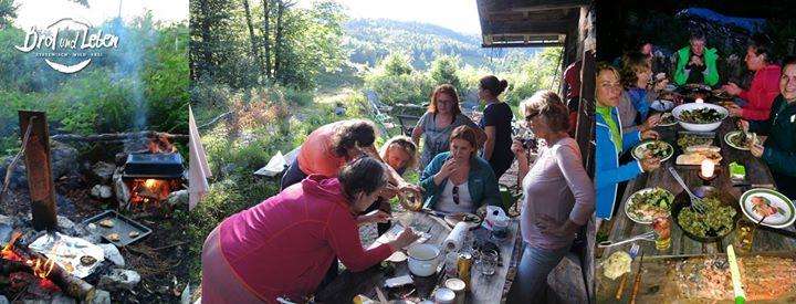 wilde weiber - wilde küche | frauencamp auf der alm at brot und