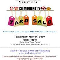 Annual Yard Sale Fundraiser