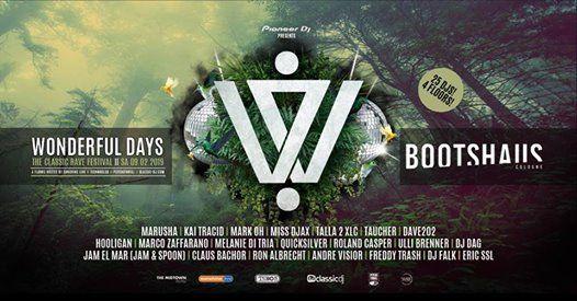 Wonderful Days - The Classic Rave Festival - 4 Floors