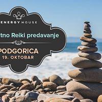 Besplatno predavanje o Reikiju - Podgorica