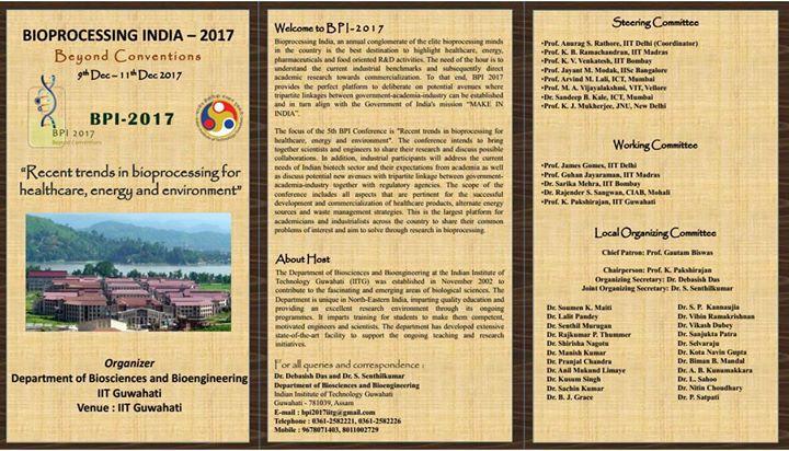 Bioproceesing India 2017