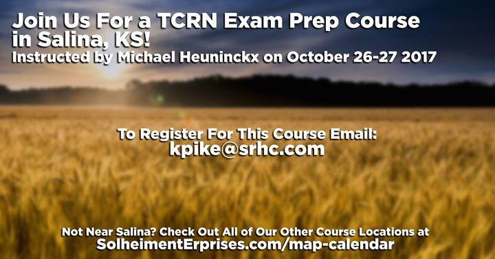 TCRN Exam Preparation Course Salina KS At Salina KS United - Salinas ks us map