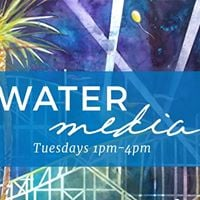TUE PM - Watermedia with Instructor Chuck McPherson