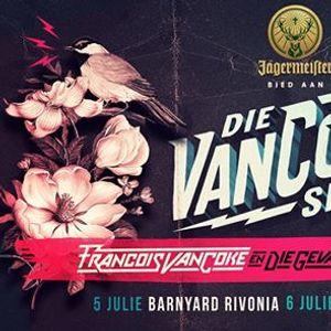 Jgermeister presents Die Van Coke Show - Barnyard Rivonia