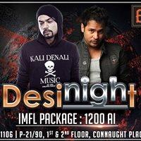 Desi Night Bombay Bar