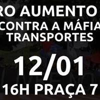 Outro aumento NO Contra a mfia dos transportes