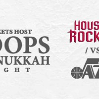 Hoops &amp Hanukkah with the Houston Rockets - Toyota Center