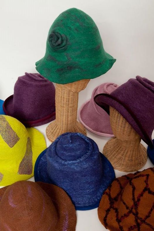 Custom Fit Wet Felted Hat