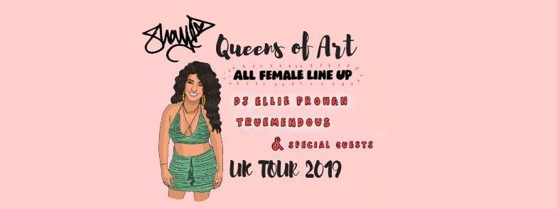 Shay D  Queens of Art  LIVE in BRISTOL  All female hip hop line up