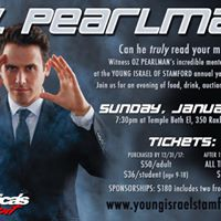 Young Israel of Stamford Youth Fundraiser Featuring Oz Pearlman