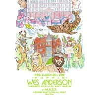 Poppin Wes Anderson themed pop-up w Ronnie Heart