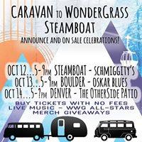 Caravan to WonderGrass Announce Celebration - Boulder