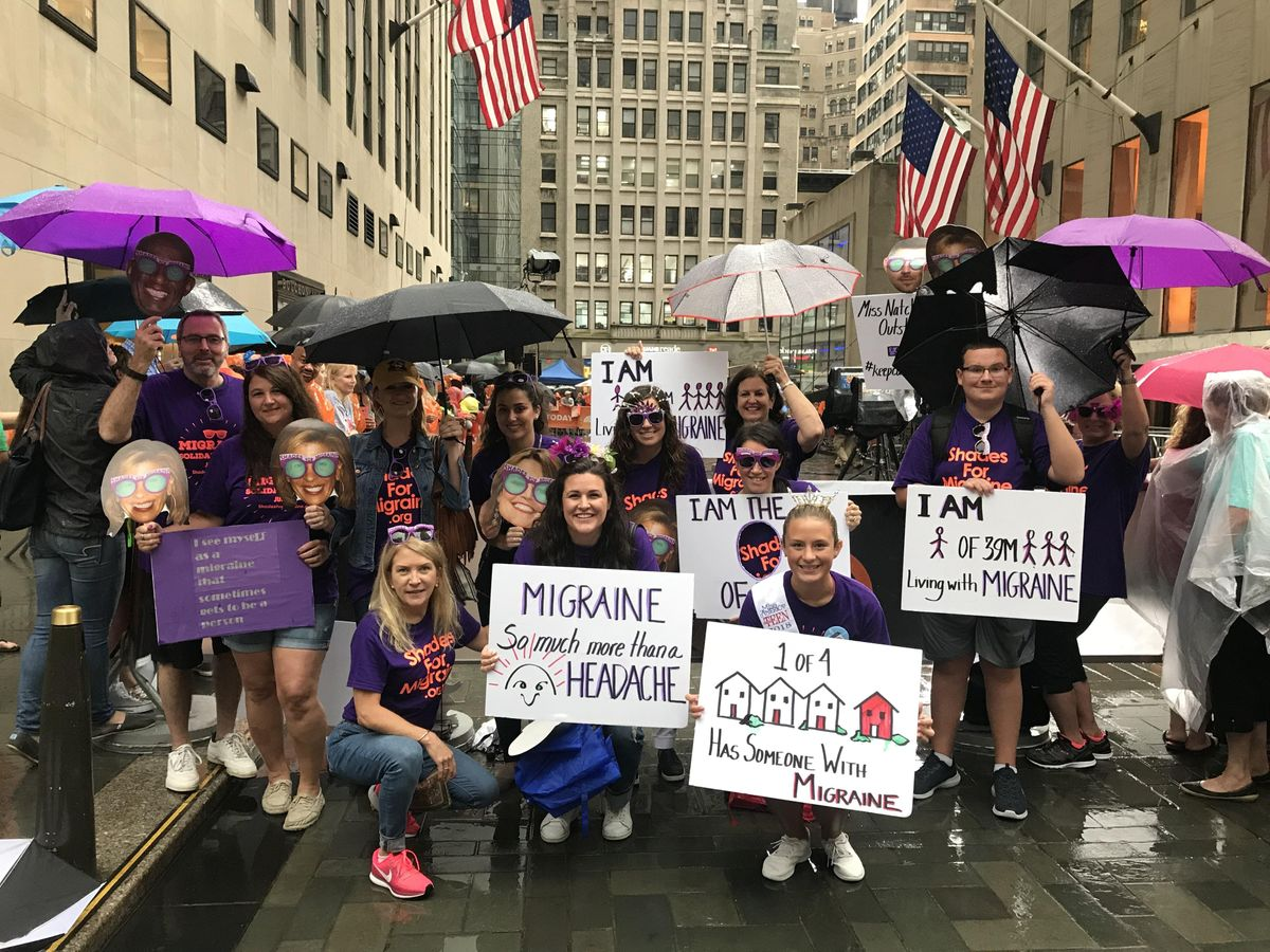 Shades for Migraine Goes to the TODAY Show