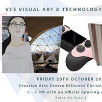 VCE Visual Arts &amp Technology Exhibition