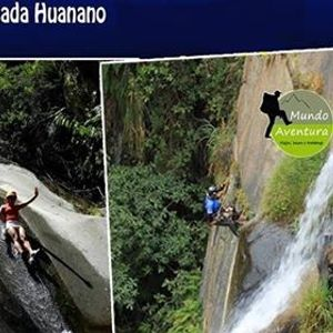 Mega Aventura Toboganes de Songos  Rapel en Cascada Huanano