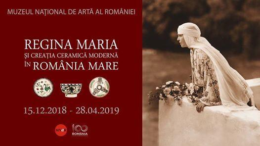 Regina Maria i creaia ceramic modern n Romnia Mare