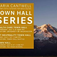 Senator Maria Cantwell Town Hall - Indivisible Thurston County