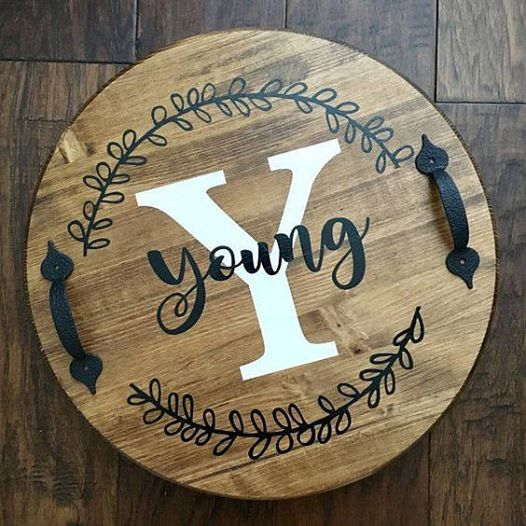 Personalized Serving Tray Craft