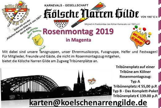Klner Rosenmontagszug 2019
