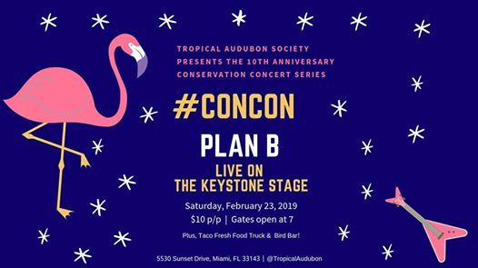 Conservation Concert Featuring Plan B