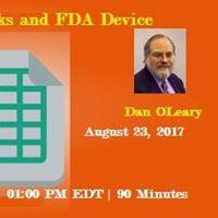 Excel Workbooks and FDA Device Regulations