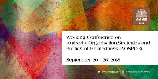 Authority Organisation Strategies and Politics of Relatedness