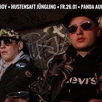 Money Boy - Hustensaft Jngling ( Live ) Panda Club  26.01.18