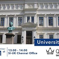 Queen Mary University of London Visiting SI-UK Chennai