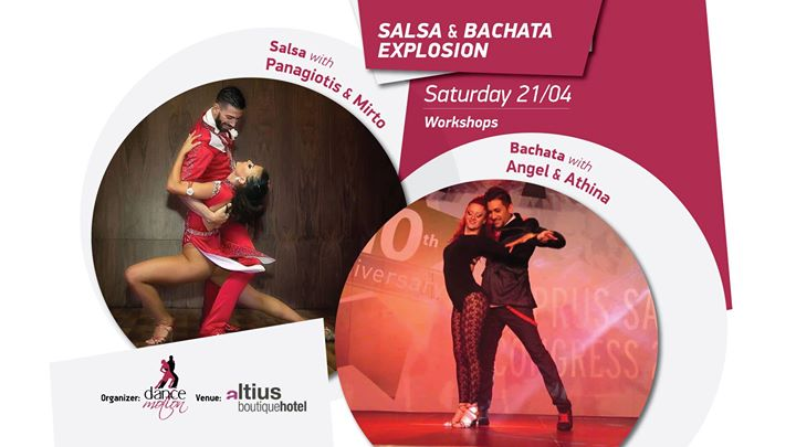 Salsa Bachata Workshops by Panagiotis - Myrto & Angel & Athina