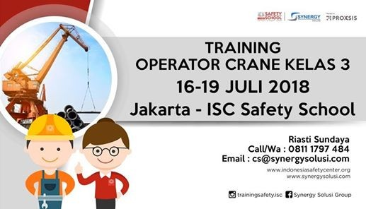 Training Operator Crane Kelas 3