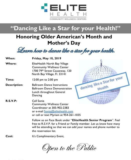 Dance Like a Star for your Health