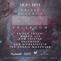 Kaiser Souzais Ballroom mit Marco Lys Vom Feisten Shlomsen
