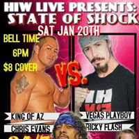 HIW LIVE Presents State Of Shock