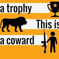 Protest Safari Club Internationals Trophy Hunt Auction