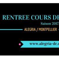 Rentre Cours Salsa avec Alegria  Montpellier