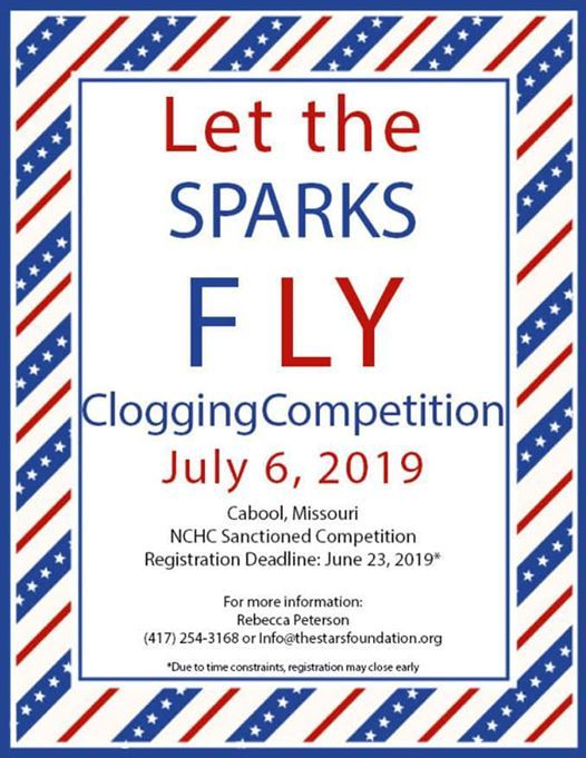 Let the Sparks Fly Clogging Competition at Cabool High, Cabool